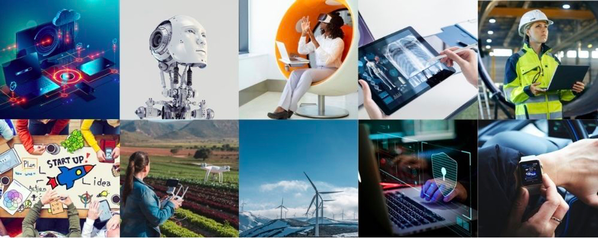 One Tech World collage
