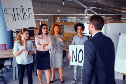 employee activism, strikes featured