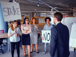 employee activism, strikes featured