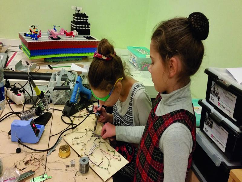 PhabLabs, encouraging girls into STEM
