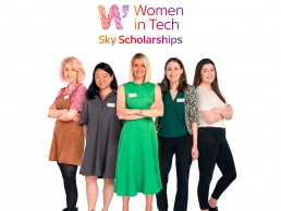 Sky Women in Tech Scholars Group featured