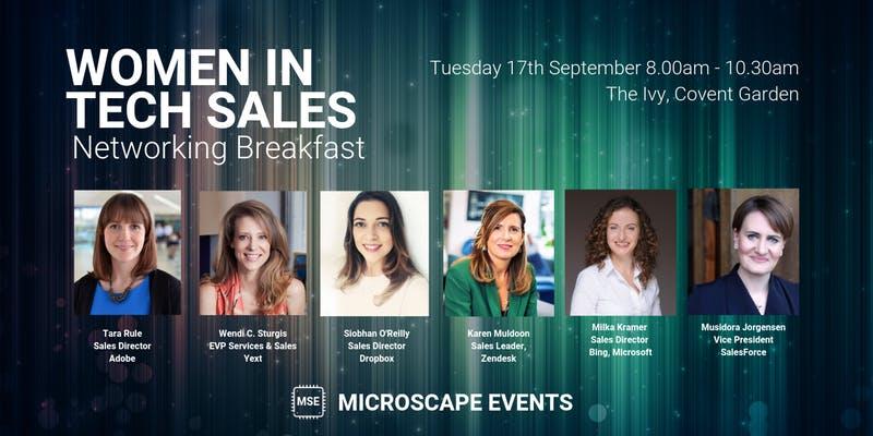 Women in Tech Sales Networking Breakfast