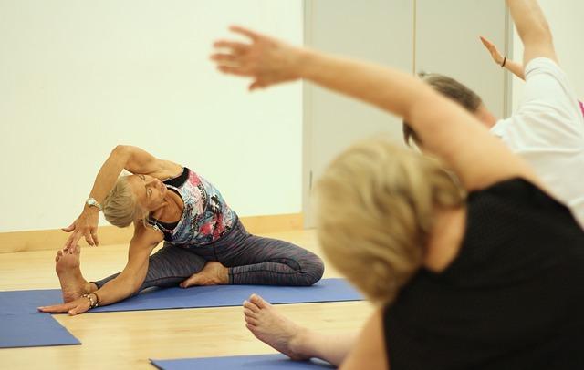 women's body, health, yoga