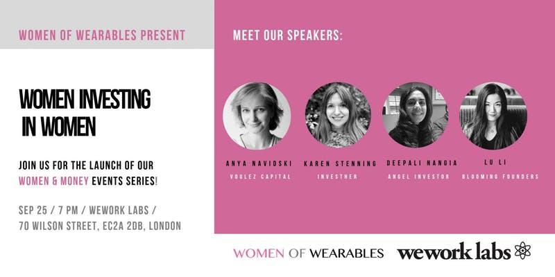 Women & Money series - Women of Wearables
