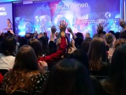 Delegates at the WeAreTechWomen conference