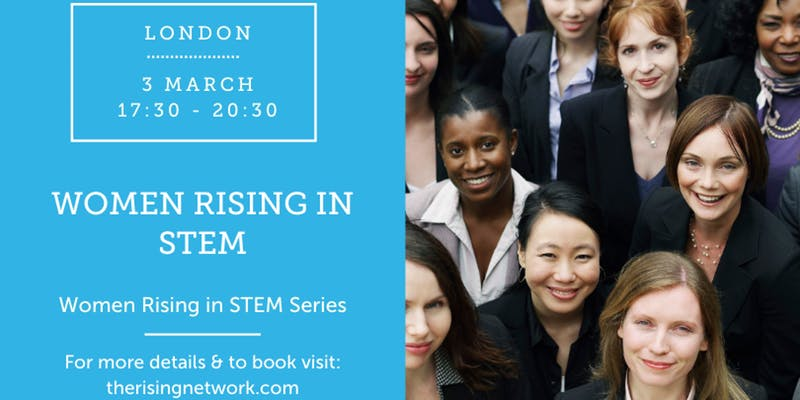 Women Rising in STEM event London