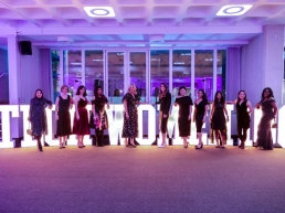 Award winners at the TechWomen100 Awards