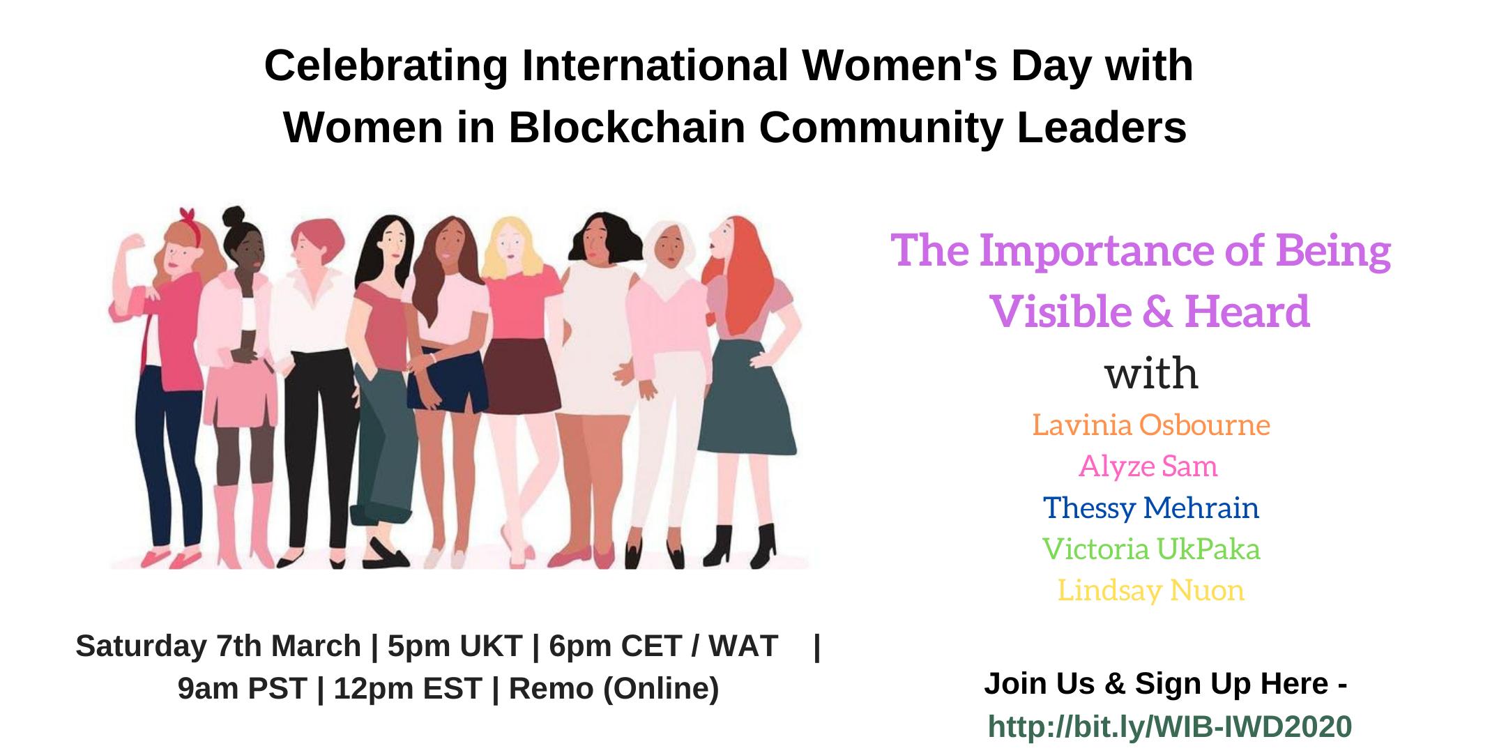 Women in Blockchain IWD