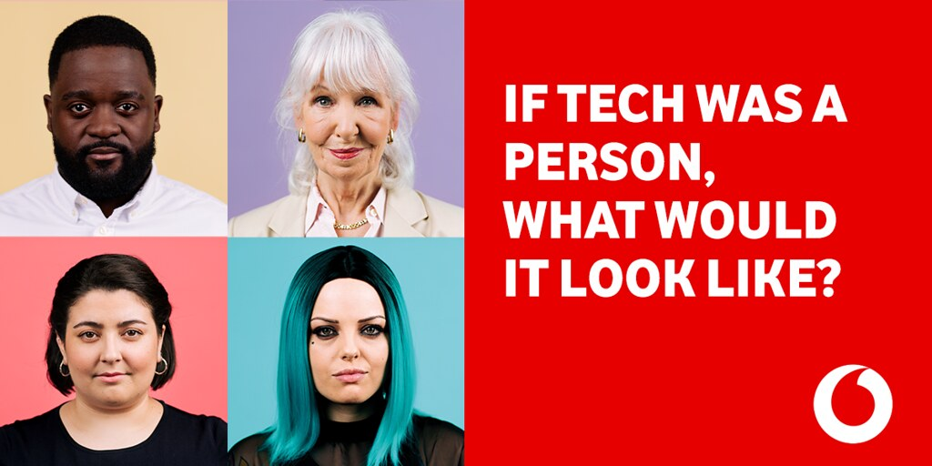Vodafone #ChangeTheFace