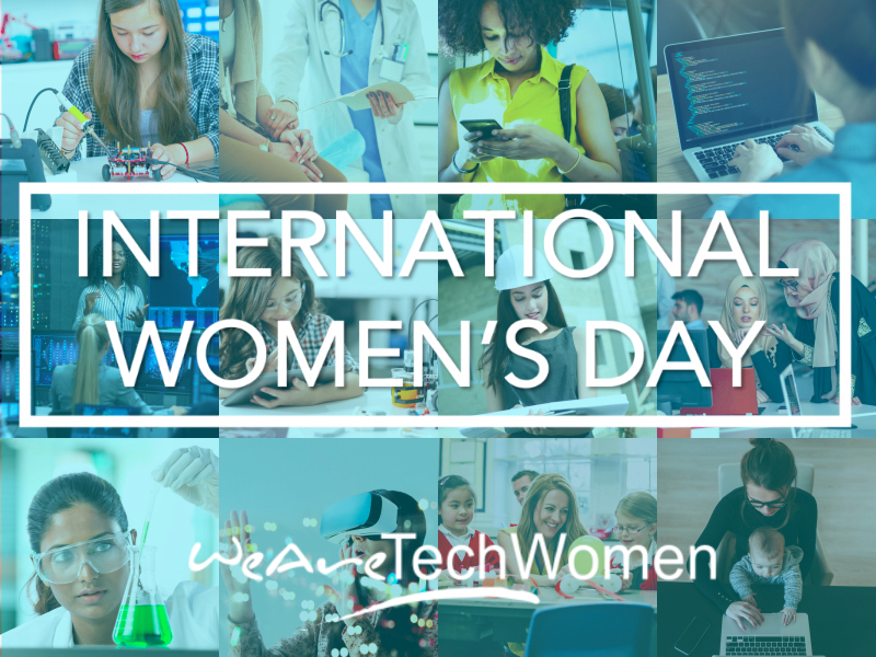 WeAreTechWomen International Womens Day