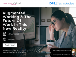 WeAreVirtual - Augmented working, webinar, new