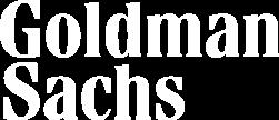 Goldman Sachs white logo
