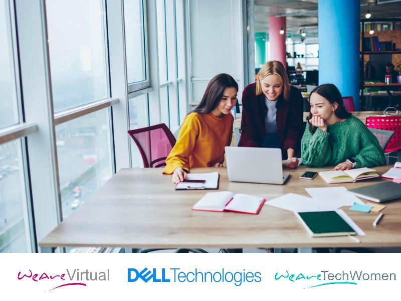 WeAreVirtual, WeAreTechWomen, Dell Technologies webinars 1