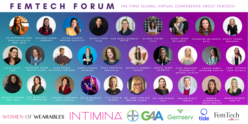 FemTech Forum - All speakers