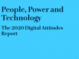 People, Power & Technology - The 2020 Digital Attitudes Report