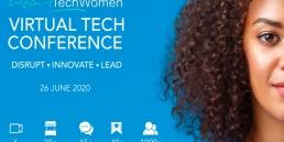 WeAreTechWomen conference stats 800x600