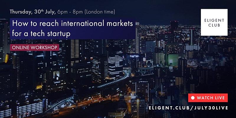Eligent Club tech startup event image
