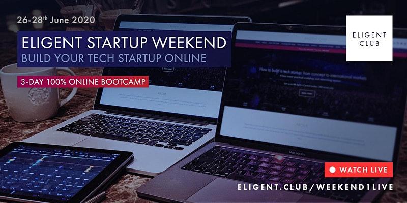 Eligent Startup Online Weekend event image