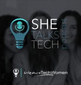 she talks tech podcast image