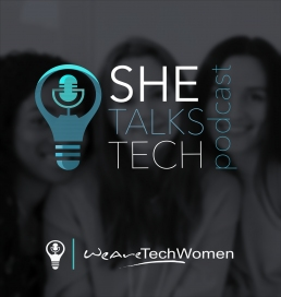she talks tech podcast image