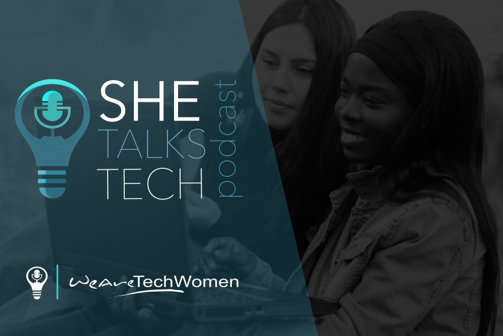 She Talks Tech logo