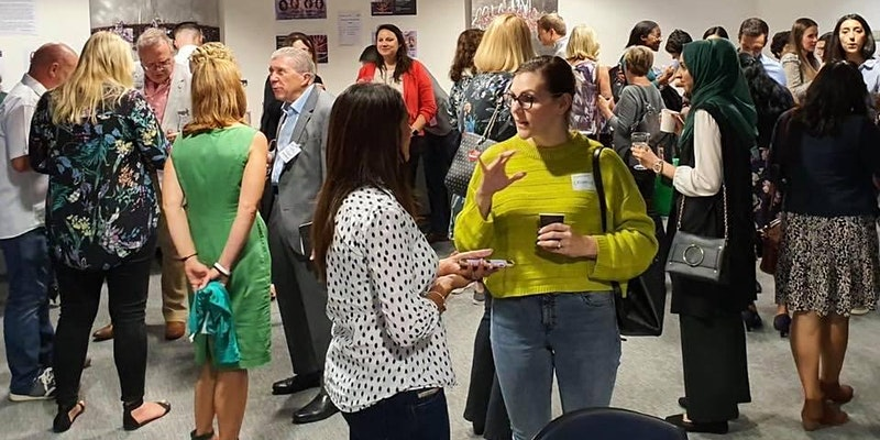 #STEMConnext networking event image