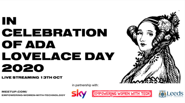 In celebration of Ada Lovelace Day event