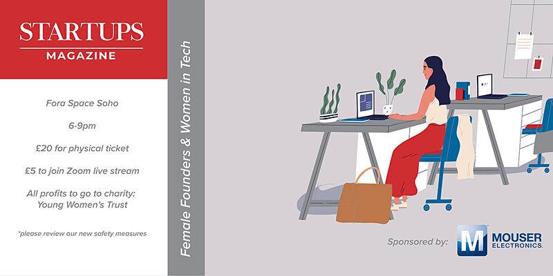Startups Magazine- Female Founders & Women In Tech event