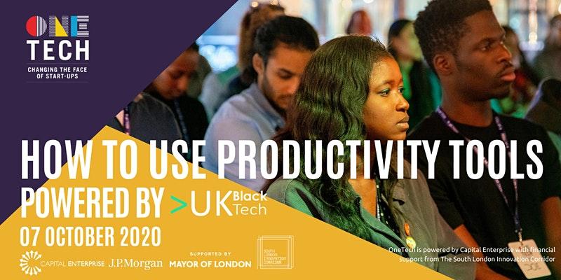 UK Black Tech, One Tech, Capital Enterprise event
