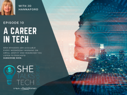 She Talks Tech - A Career in Tech with Jo Hannaford