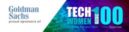 Goldman Sachs TechWomen100 sponsor