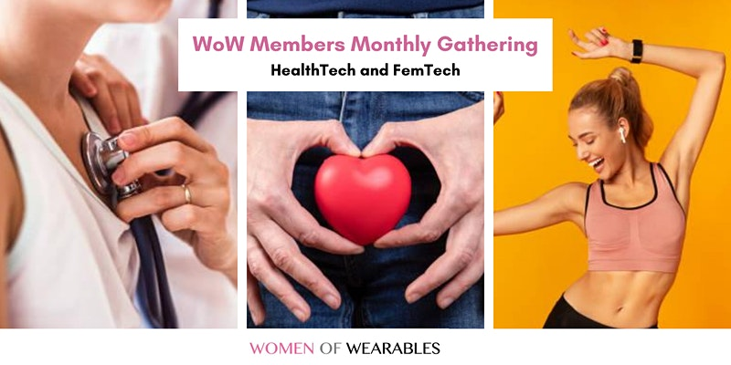 Women of Wearables monthly healthtech event