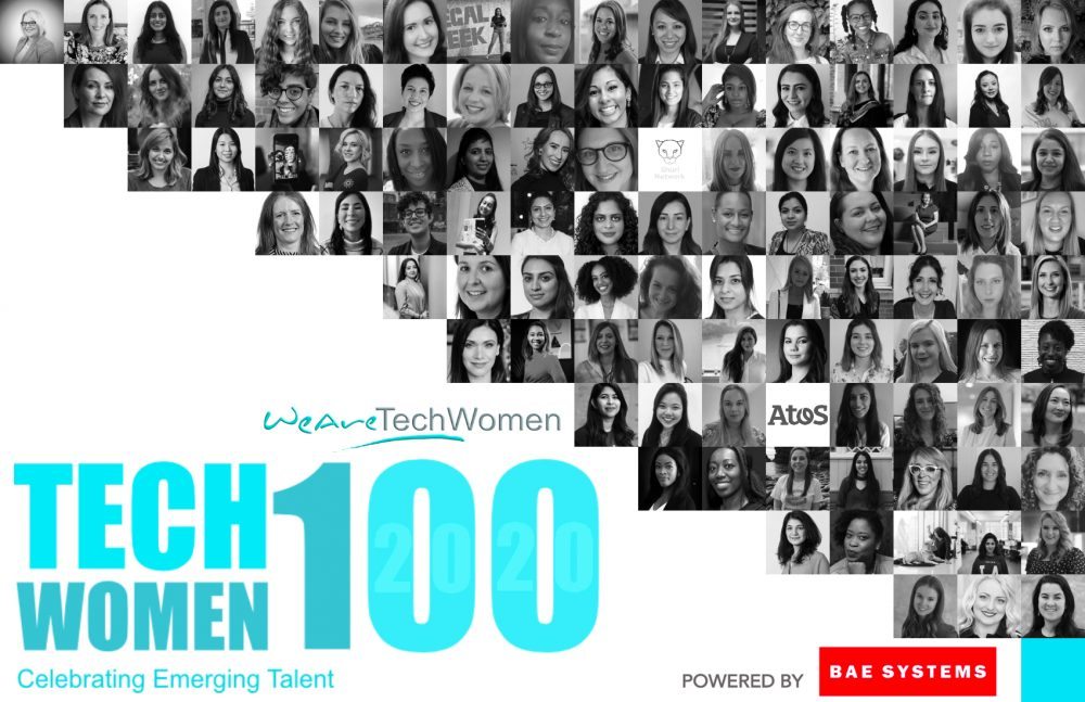 TechWomen100 Winners Staggered Banner