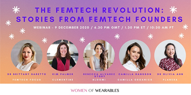 Women of Wearables event, FemTech revolution