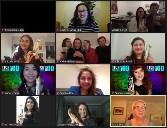 TechWomen100 Award's ceremony