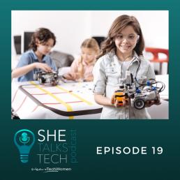She Talks Tech Podcast - Episode 19