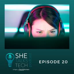 She Talks Tech podcast - Episode 20