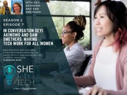 SheTalksTech Making Tech Work for All Women, Season 2 Episode 7, 800x600