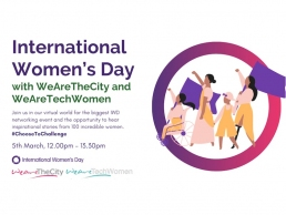 International Womens Day: Networking event for women in tech
