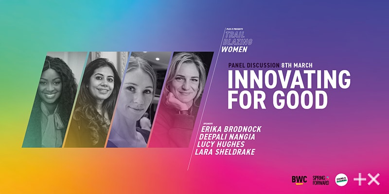 Plus X Innovating For Good IWD event
