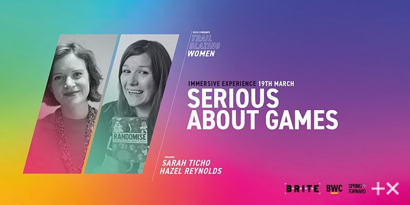 Plus X, Serious About Games event