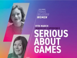 Plus X- Trailblazing Women, Serious About Games featured