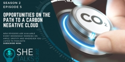 She Talks Tech podcast - Opportunities on the path to a carbon negative cloud' with Dr Anand Narasimhan, Microsoft