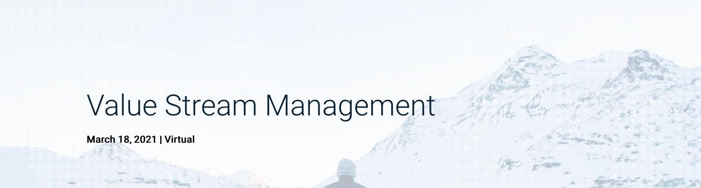 Value Stream Management, DevOps Institute event
