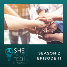 She Talks Tech Podcast on 'Diversity in Tech - How do we build a culture of inclusion?'