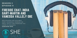 SheTalksTech India Gary Martin in Conversation with Vanessa Valley OBE