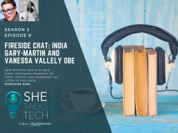 SheTalksTech India Gary Martin in Conversation with Vanessa Valley OBE
