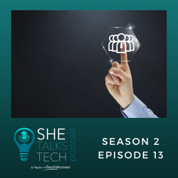 'Leading in a Crisis' with Justine Lutterodt | She Talks Tech podcast