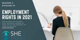 She Talks Tech podcast - 'Employment Rights in 2021' with Georgina Calvert-Lee, McAllister Olivarius