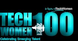 TechWomen100 2021 logo